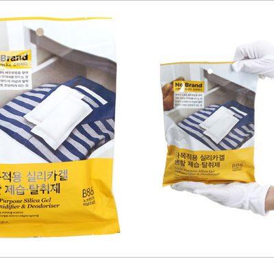 Gói hút ẩm và khử mùi Silica gel đa công dụng